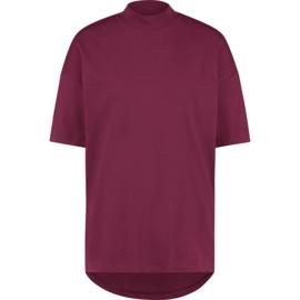Raizzed Women T-Shirt Hamira Bordeaux Red XS