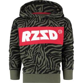 Raizzed Girls Sweater Riga Army Zebra w2 116