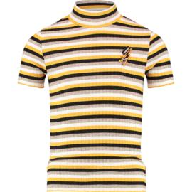 Vingino Girls T-Shirt Halieke Ochre Yellow w2 128