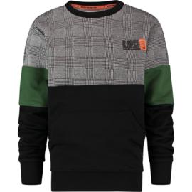 Vingino Boys Sweater Nasri Deep Black w2 128