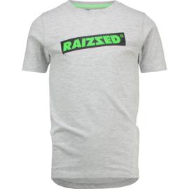 Raizzed Boys T-Shirt Hudson Light Grey Melee w2 116