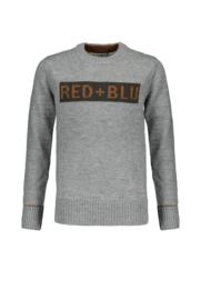 Red&Blu Boys Sweater 128