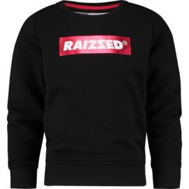 Raizzed Girls Sweater Valletta Deep Black w2 116