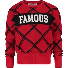 Vingino Girls Sweater Morien Classic Red w2 128
