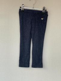 Le Chic Legging Glitter Blauw 80
