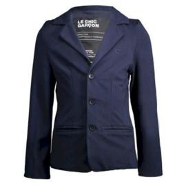 Le Chic Garcon Blazer Blauw Glad 122/128