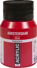 Amsterdam Standard  Karmijn 318  500ml