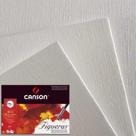 Canson  Figueras  olie- en acrylpapier  5 vellen  50x65cm 290 g/m2