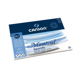 Canson Aquarelblok Montval 4-kant gelijmd 40x50 cm 300 g/m2