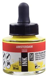 Amsterdam Acrylic ink  Azogeel citroen 267