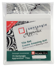 Sakura Zentangle Apprentice Tile Set