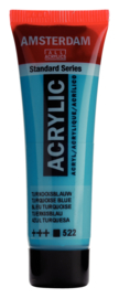 Amsterdam  Standard Turkooisblauw 522  20 ml