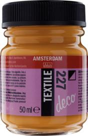 Amsterdam Textielverf Fles 50 ml Gele Oker 227