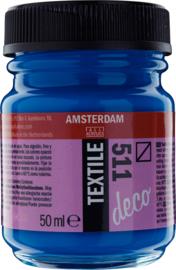Amsterdam Textielverf Fles 50 ml Kobaltblauw 511