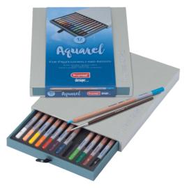 Bruynzeel Design Aquarelpotloden set 12 stuks