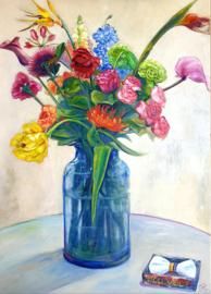 """""""Vaas met bloemen"""""""