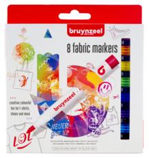 Bruynzeel Textielstiften Set 8