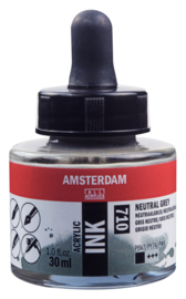 Amsterdam Acrylic ink  Neutraalgrijs 710