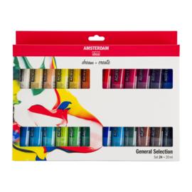 Amsterdam Standard Series Acrylics Algemene selectieSet24× 20 ml