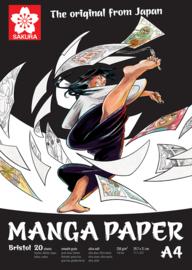 Sakura Manga papier A4, 250g, 20 vellen