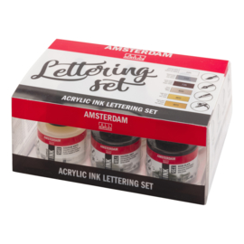 Amsterdam Ink Lettering set  6x30ml