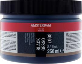 Amsterdam Gesso zwart  3007  250ml