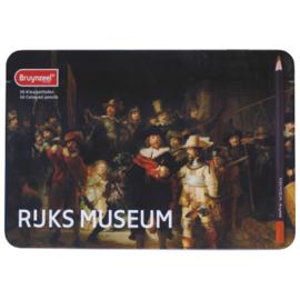 Bruynzeel Rijksmuseum 50 kleurpotloden