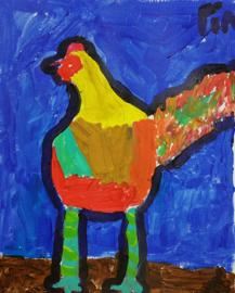Tekenen- en schilderen JEUGD (6 t/m 12 jaar) zaterdagmiddag  16 lessen x 2 uur
