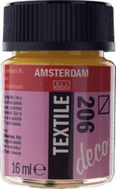 Amsterdam (Decorfin) Textielverf Fles 16 ml Provencegeel 206