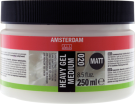 Amsterdam Heavy gel medium mat 020  250ml