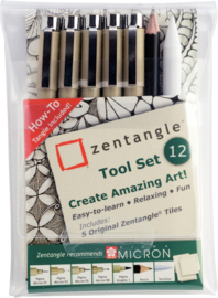 Sakura Zentangle Tool Set 12-delig