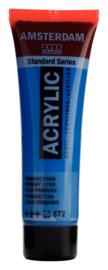 Amsterdam  Standard Kobaltblauw Primaircyaan 572 20 ml