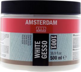 Amsterdam Gesso wit 1001  250ml