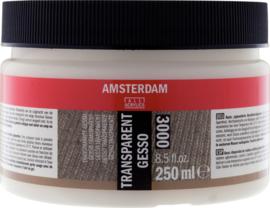 Amsterdam Gesso Transparant 3000 250ml