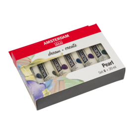 Amsterdam Standard Series Acrylics Parelmoer Set6× 20 ml