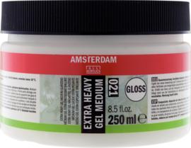 Amsterdam Heavy gel medium glanzend 022  250ml