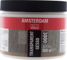 Amsterdam Gesso Transparant 3000 500ml