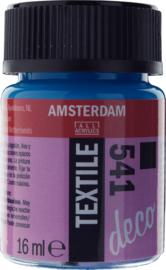 Amsterdam (Decorfin) Textielverf Fles 16 ml Hemelsblauw Dekkend 541