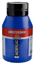 Amsterdam Standard Series Acrylverf Pot 1000 ml Ultramarijn 504