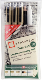 Sakura Zentangle Tool Set 10-delig