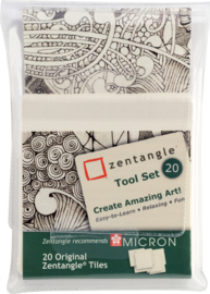 Sakura Zentangle Tool Set 20-delig