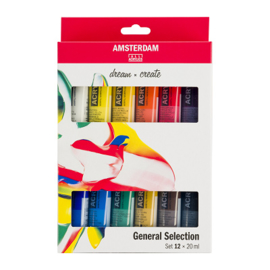 Amsterdam Standard Series Acrylics Algemene selectieSet12× 20 ml