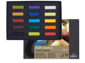 Rembrandt Soft Pastels  Special edition set of dark colours 40 halve