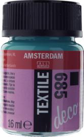 Amsterdam (Decorfin) Textielverf Fles 16 ml Turkoois Dekkend 685