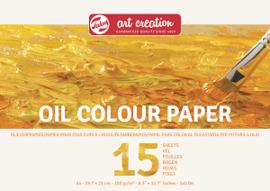 Talens Art Creation Olieverf Papier A4, 300G, 15 Vellen
