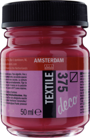 Amsterdam Textielverf Fles 50 ml Bordeaux 375