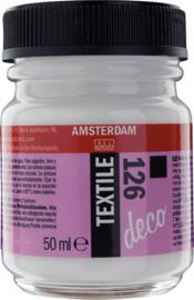 Amsterdam Textielverf Fles 50 ml Wit Dekkend 126