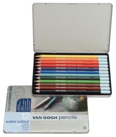 Van Gogh Aquarelpotloden 12 stuks
