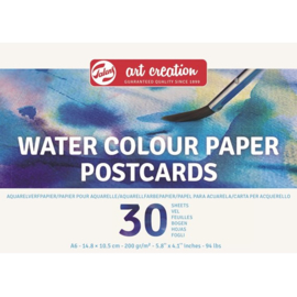 Talens Art Creation water colour paper postkaartmodel