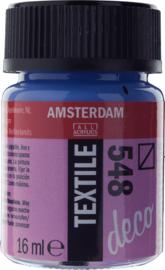 Amsterdam (Decorfin) Textielverf Fles 16 ml Blauwviolet 548